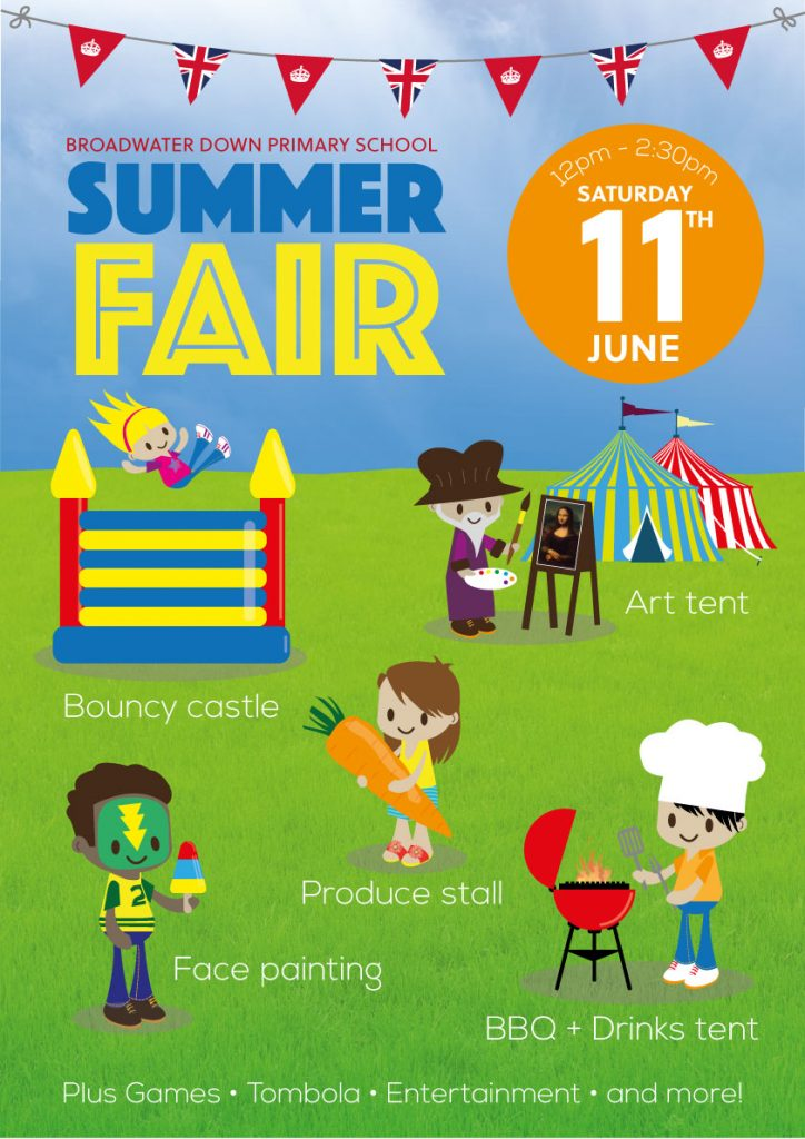 Broadwater Down Primary School Summer Fair 2016