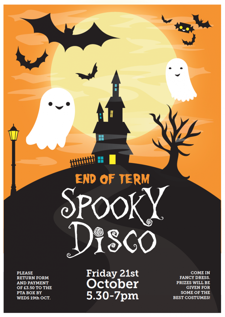 Broadwater Down Primary School Spooky Disco 2016