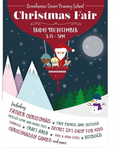 Broadwater Down Primary School Christmas Fair 2016