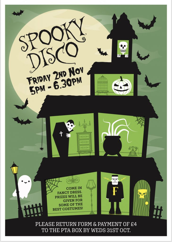 Spooky Disco Poster 2018
