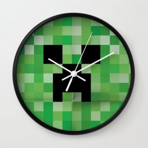 Minecraft Creeper Clock