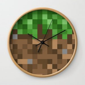 Minecraft Ground Block Clock