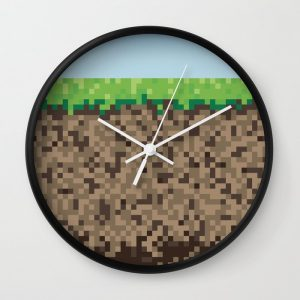Minecraft Dirt Block Clock