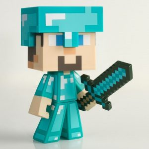 Minecraft Diamond Steve 6