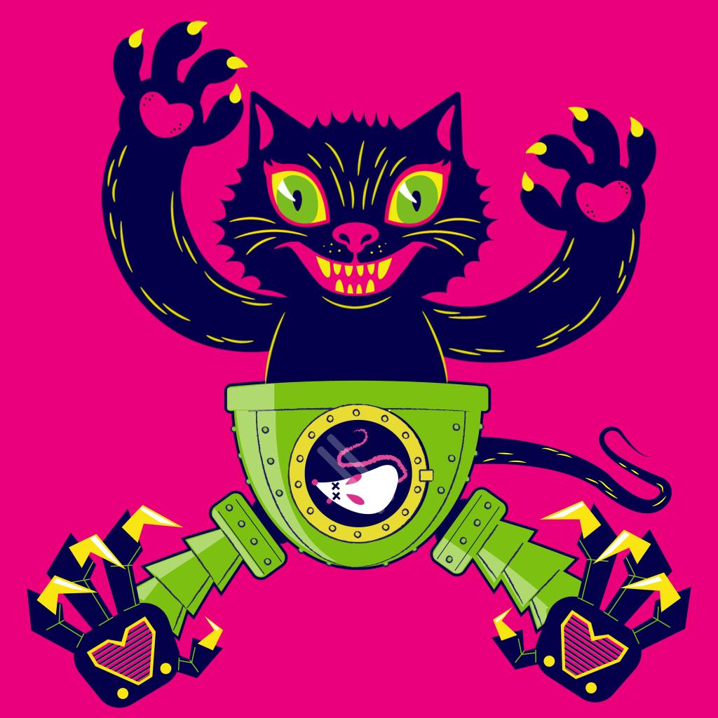 Cyborg Kitty
